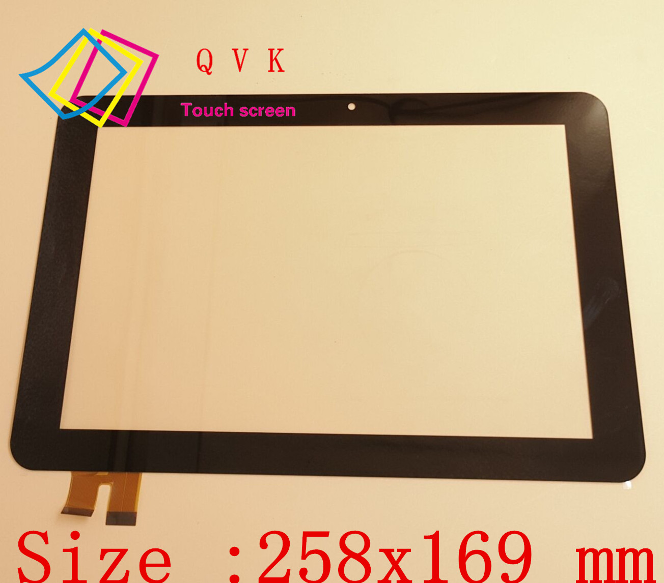 New 10.1 inch For GOCLEVER TAB R105BK Tablet Touch Screen Tablet Glass Tablet Glass Sensor P/N MT10104-V2D brand new p n e738048 touch screen glass well tested working three months warranty