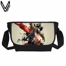 VEEVANV 2017 Assassins Creed Schule Messenger Bags Männer Täglichen Tasche Frauen Casual Schultasche Für Jugendliche Kinder Crossbody Taschen