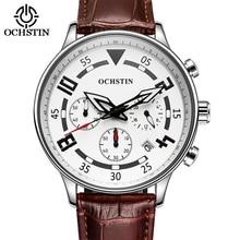 Moda Hombres Del Cronógrafo Relojes Deportivos Reloj Hombre de Primeras Marcas de Lujo Reloj de Cuarzo Militar Reloj Masculino Del Relogio Horas