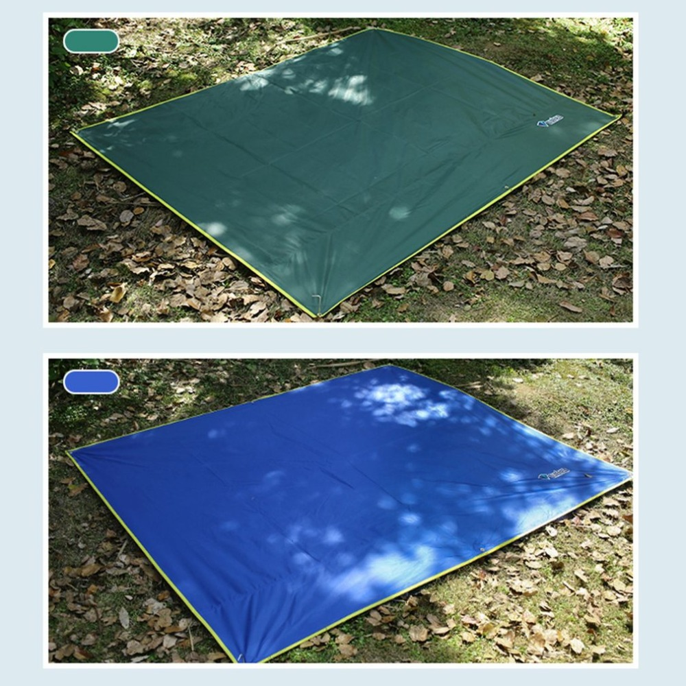 Camping Mat Ultralight Outdoor Waterproof Tent Tarp Footprint Ground Oxford Sheet Mat Blanket Canopy for Camping Hiking Picnic