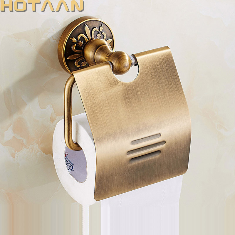 Toilet Paper Holder Free Shipping Wholesale & Retail Wall Mounted Vintage Classic Bathroom Antique Brass Roll Tissue Box13392 boys rompers new hot 100% cotton winter spring autumn summer clothes infant newborn clothing baby clothes