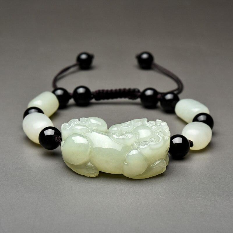 Haute qualité bracelet brave couple rouge noir corde à la main mâle femme couple cadeau filles pierre naturelle meilleur couple cadeau bijoux