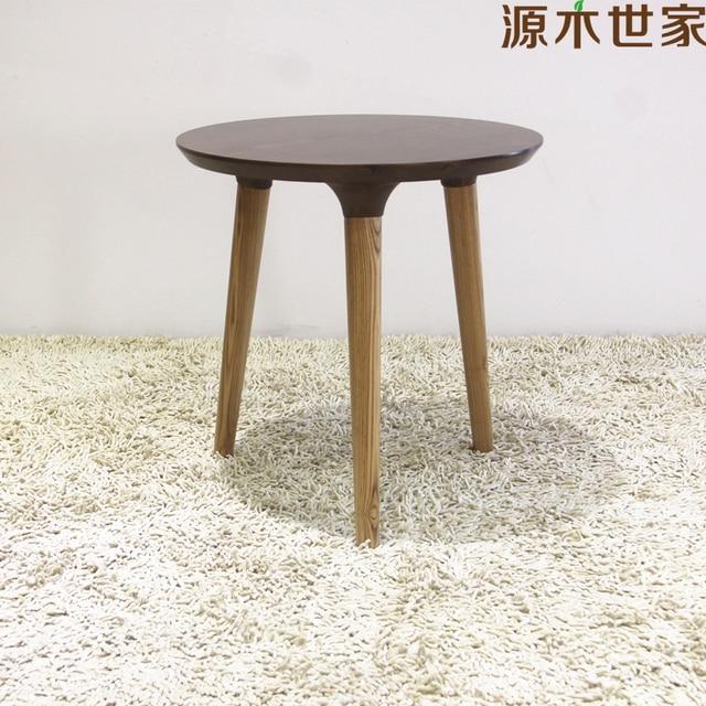 Ikea Nordic simple estilo japonés de madera de fresno pequeña mesa ...