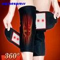 Turmalina Aquecimento Cinto Massageador Massageador Espontânea Do Joelho Proteção Terapia Magnética Joelheira Conjunta