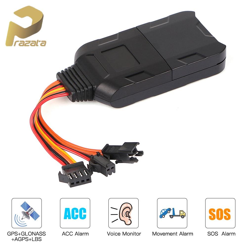 GPS Tracker Car GPS Locator Cut Off Fuel Voice Monitor GPS Car Tracker LK300 Tracking Device Shock Alert SOS Free APP PK GT02A