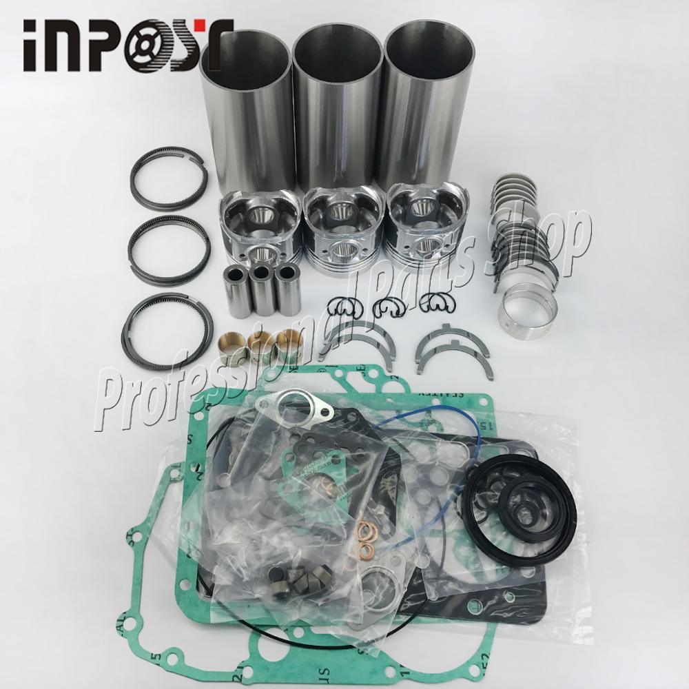 Nuovo Per Kubota Revisione D722 Rebuild Kit Con Set di Guarnizioni Pistone anello Kit Di Riparazione