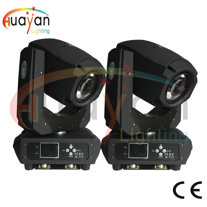 2PCS/LOT Compact 200W LED beam wash moving head light Gobo Spot 2in1 Professional stage equipment led mobile 200w led moving discount price 2 pack 200w led moving head spot wash 2in1 light 75w white 9 12w rgbwa purple leds mini rotate gobo color wheel