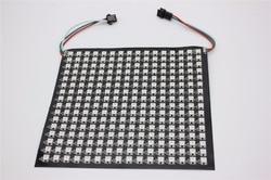 P10mm 16*16 píxeles 256 leds flexible mini led de matriz de ws2812 WS2812b