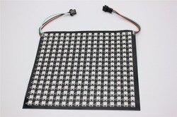 P10mm 16*16 pixel 256 leds flessibile mini led matrix ws2812 WS2812b