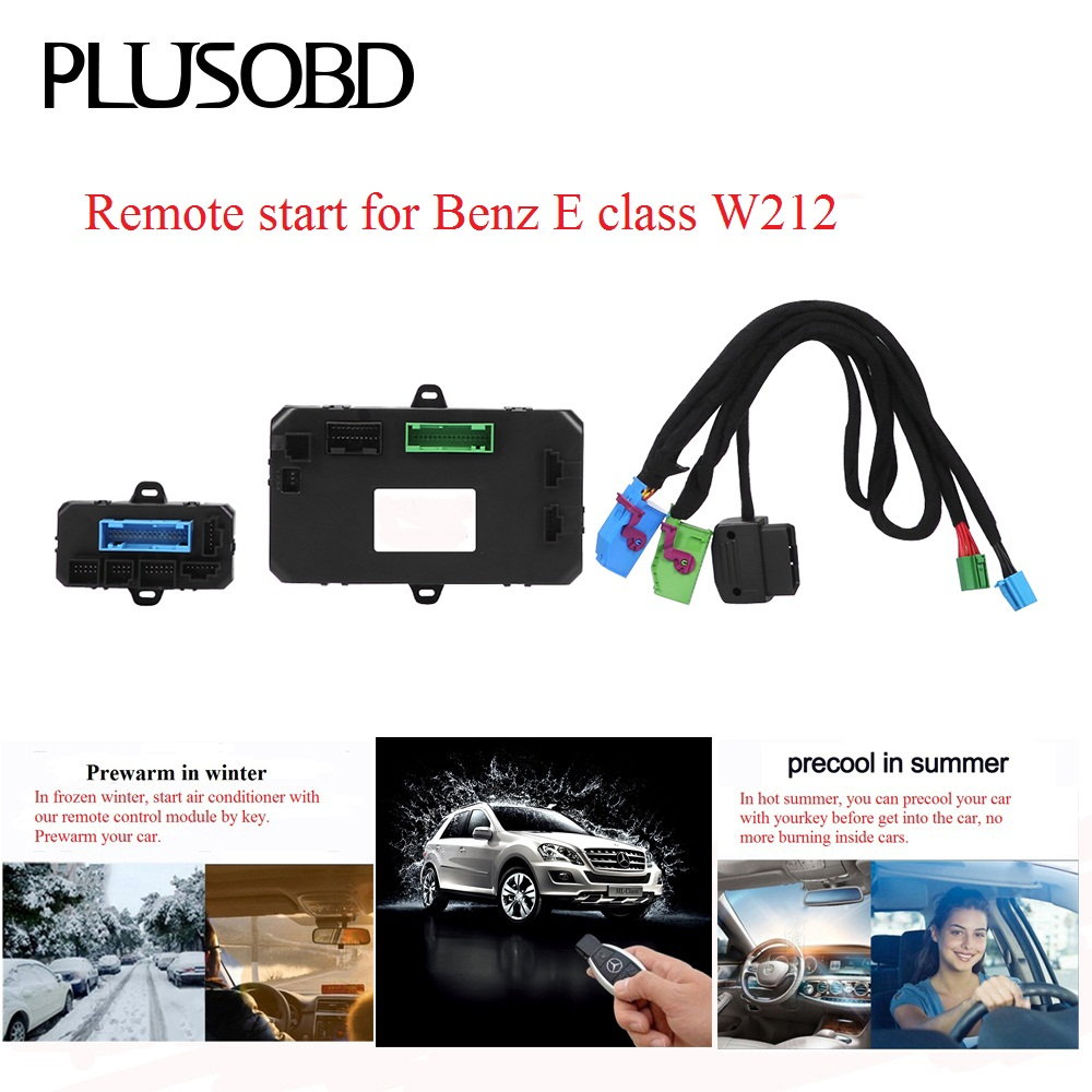 Remote-Control Precooling Mercedes-Benz Car-In-Winter And Summer To for W212 Warm-Up