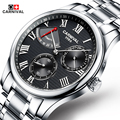 Carnival Mens High Quality Automatic mechanical Watches Men Top Brand Luxury Dive 30M Business full steel watch Man Clcok