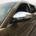 Для Skoda Kodiaq 2016 2017 2018 ABS хромированная крышка зеркала боковой двери  отделка зеркала заднего вида  защита от дождя  накладной козырек  автомоби...