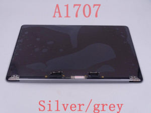 "Original new Grey SILVER ColorA1707 LCD Display Assembly 2016 2017 for Macbook Pro Retina 15"" A1707 LCD Screen Complete Assembly(China)"