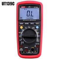 UNI T UT139C True RMS Multimeter LCD Display Digital Multimeter Auto Range Pen Test Leads Handhold Capacitor Tester Device