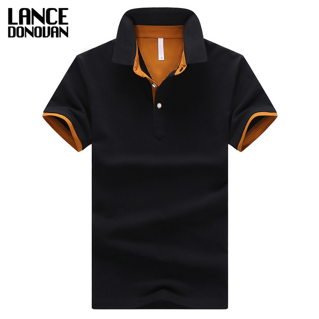 2016 Летом С Коротким Рукавом Polo Shirt Мужчины М-4XL АЗИИ РАЗМЕР 11 Сплошной цвет Выбрать