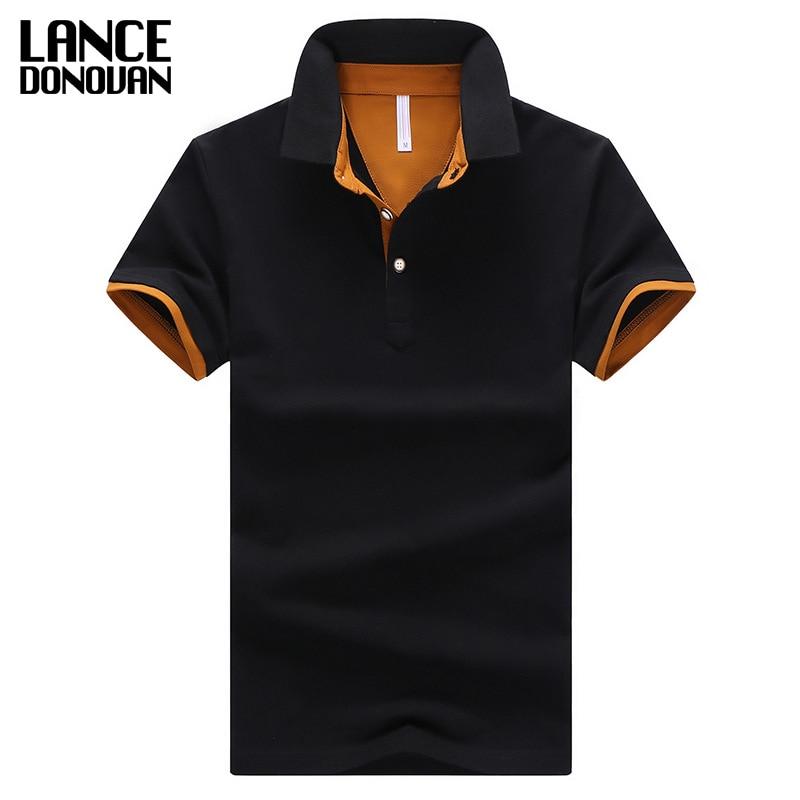 2016 de verano de manga corta Camisa de Polo de los hombres M-4XL tamaño asiático 11 color sólido elegir