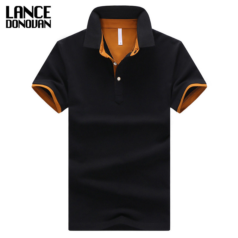 2019 Summer Short Sleeve   Polo   Shirt Men M-4XL ASIAN SIZE 11 Solid color Choose