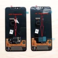 Оригинальная версия отпечатка пальца в экране для 6,21 Xiaomi Mi 8 Pro Supor Amoled ЖК дисплей + сенсорный экран, цифратор