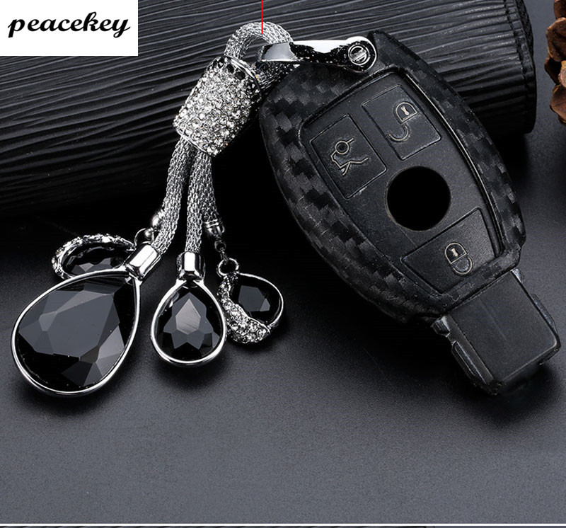 keychain case for Mercedes benz CLS CLA GL R SLK AMG A B C S class Remote holder