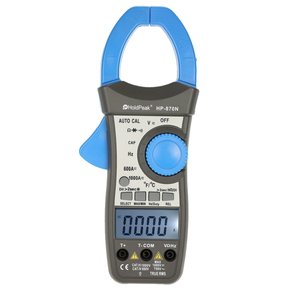 HP 870N Clamp Meter Multimeter pinza amperimetrica digital data show amperimetro capacitance meter multimetro current clamp