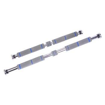 Puerta barras horizontales acero 200Kg ajustable en casa gimnasio entrenamiento barbilla Push Up entrenamiento Bar Deporte Fitness asiento -Ups equipo
