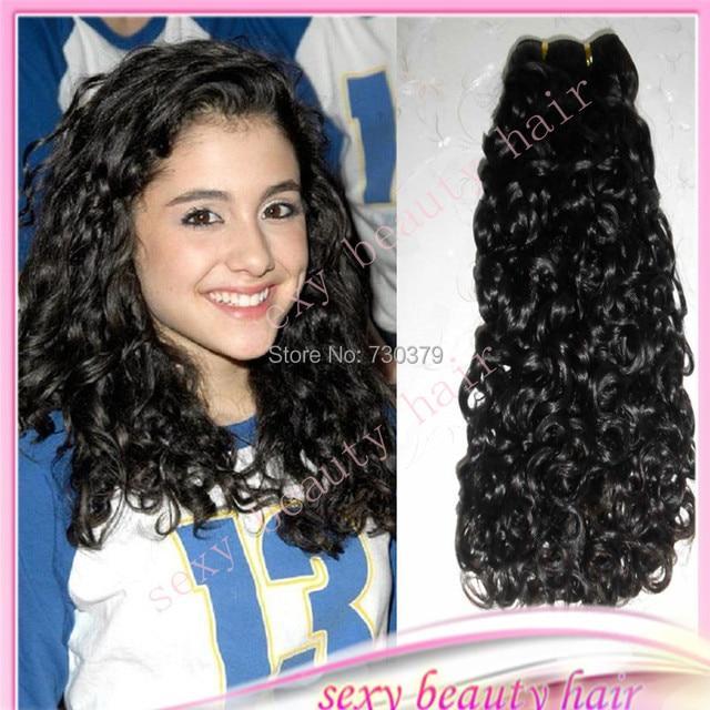 Nouvelle vente ariana grande boucl s coiffure vierge br silienne longue perruque cheveux armure - Ariana grande coiffure ...