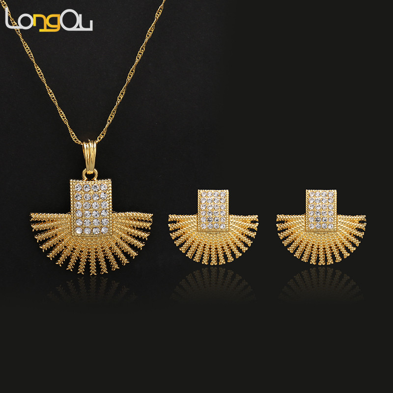 Scallop Shape Jewelry Sets...