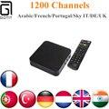 GOTiT S805 Cuádruple núcleo Cuadro de TV Android + 1 Año IPTV Árabe Francés 1100 LiveTV Neotv/QHDTV Kodi 16.1 IPTV Árabe Gratis Smart TV Box
