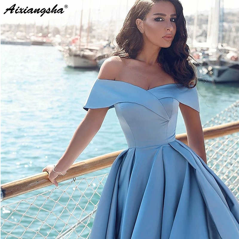 4803fbb4a5 ... Elegant Hot Sell Ball Gown Off-the-Shoulder Court Train Women Formal  Evening Gown ...
