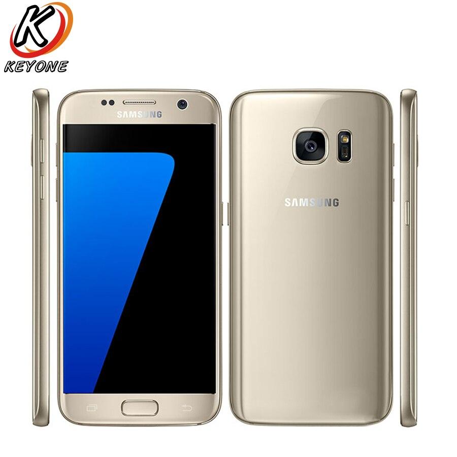 Новый Smasung Galaxy S7 d/S G930FD мобильный телефон 5.1 4 ГБ Оперативная память 32 ГБ Встроенная память Octa core android 3000 мАч 12.0MP отпечатков пальцев телефона