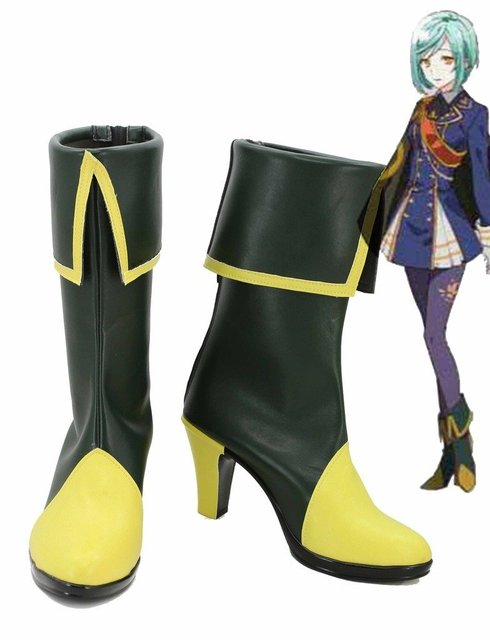 Touken Ranbu Online Game Ichigo Hitofuri Cosplay Shoes Boots Custom Made