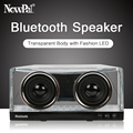 Newppal X3 Bluetooth Speaker Portable Speakers Strong Bass LED light TF/FM/AUX Wireless Mini Bluetooth Receiver Speaker with Mic