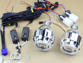 YY G8 H4 H7 2.5 дюйм(ов) Мини WST Bi xenon HID Проектор объектив Ксеноновая Лампа CCFL Angel Eye Halo для Фар Автомобиля Комплект Для Модернизации