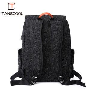Image 5 - Mens Backpacks Mochila For 15 Inch Laptop USB Backpack Fashion Stundet Schhol bag Teens Backpack Water Repellent Rucksack women