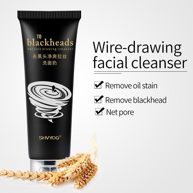 Rosto de Controle de Óleo Facial Rosto Limpeza Shvyog Homens