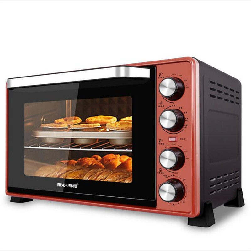 220V 45L 2000W Multifunction Electric Oven Making Bread Pizza Cookies For Commercial Household EU/AU/UK/US Plug