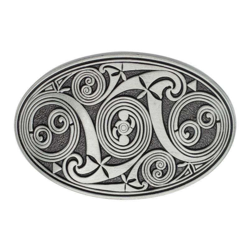 Line Design Belt Buckle