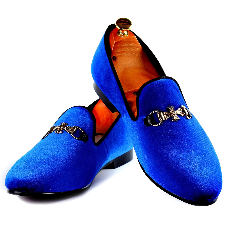Harpelunde Мужчины Употребляю Мокасины Синие Туфли На Плоской Подошве Ремешок С Пряжкой Повседневная Обувь Кожаная Подкладка Размер 7-14