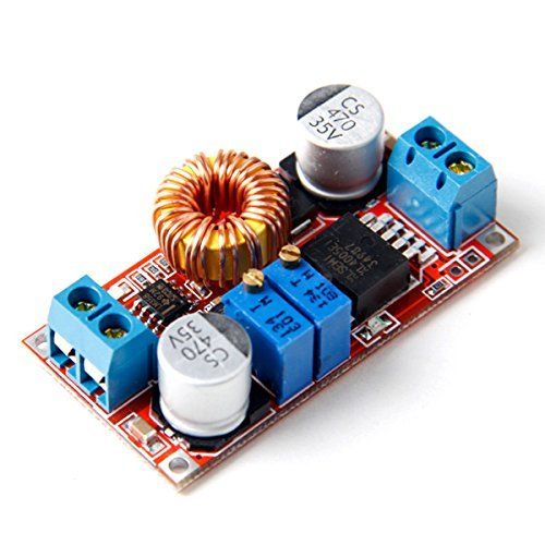 5A DC To DC CC CV Lithium Battery Step Down Charging Board Led Power Converter Lithium Charger Step Down Module Hong