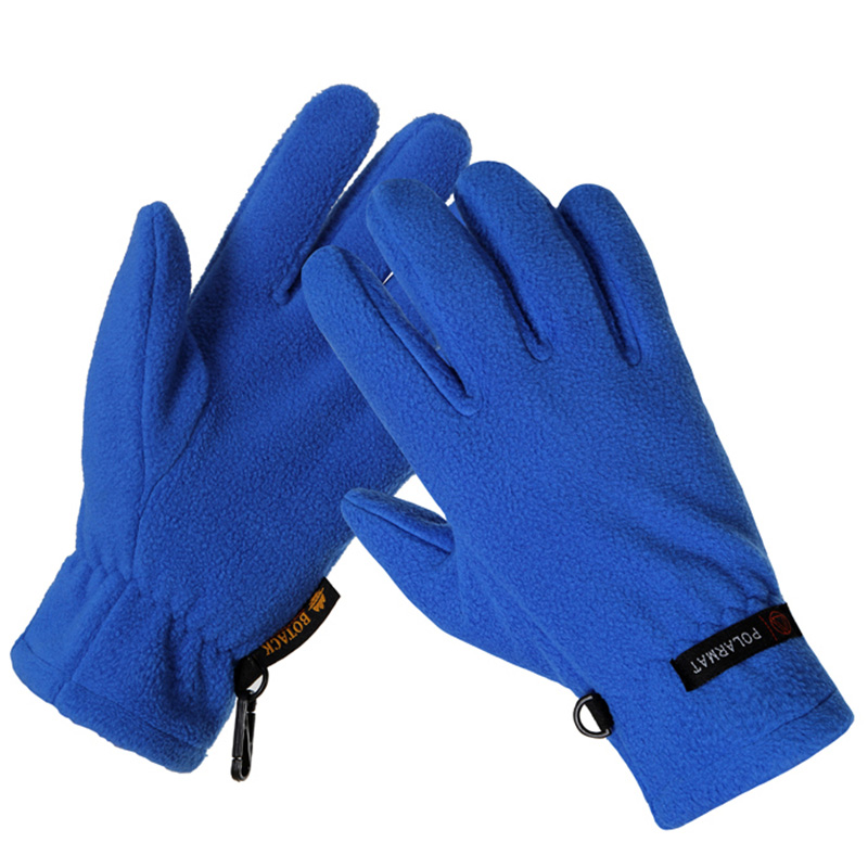 CHSDCSI Unisex Motorcycle Gloves Winter Glove Warm Fleece Thermal Windproof Mountain Climb Deportes Blue Red Men Outdoor Gloves
