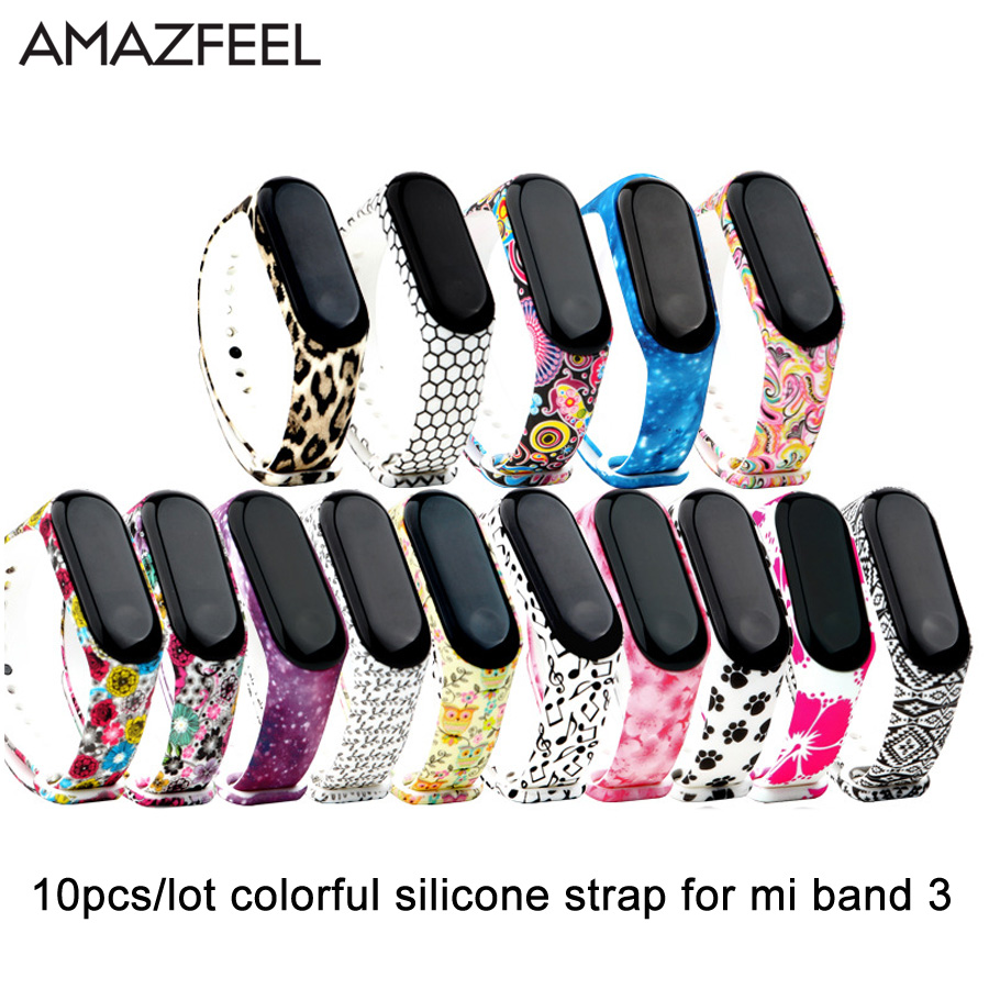15 Color Wrist Strap For Xiaomi Mi Band 3 Belt Silicone Wristband For Mi Band 3 Smart Bracelet For Xiaomi Band 3 Accessories