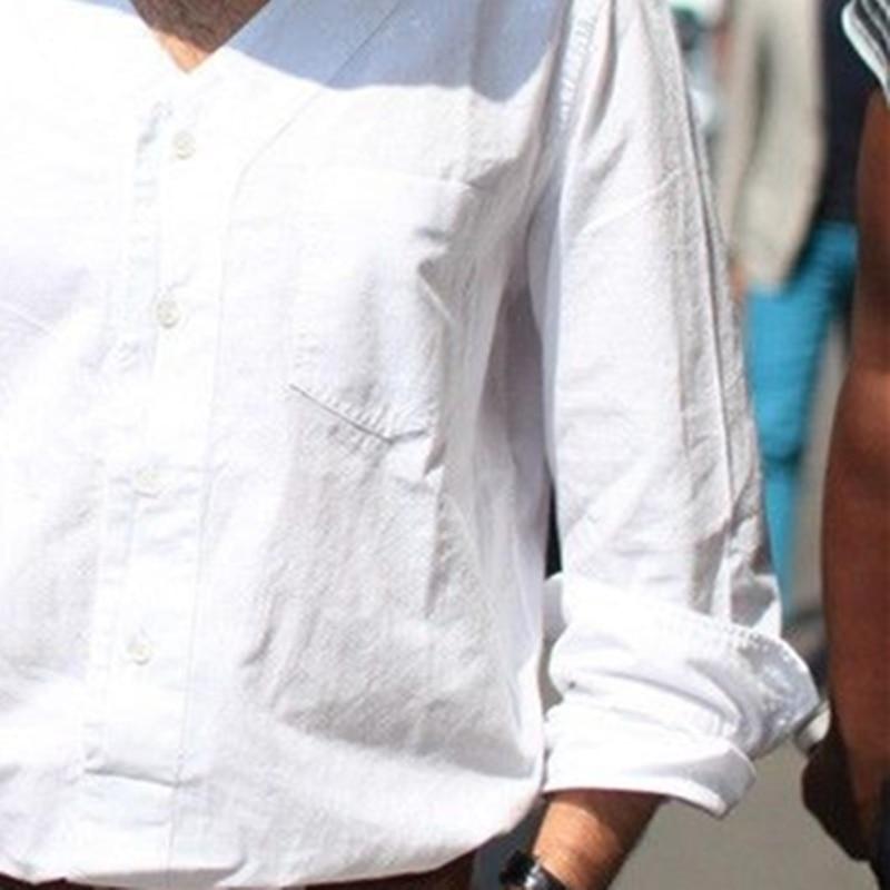 Personnalité S Hommes V Chemise Mince Nouveau Col De Costumes Styliste Chanteur Rue Blanc Cheveux 5xl Vêtements Bigbang Taille Plus Mode La 2017 qrnqOaZF