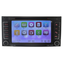 2-Din Car DVD Player for VW Volkswagen Touareg 2002-2010 with Navigation Radio TV BT CD MP3 USB SD Auto Audio Stereo Free map BT