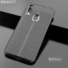 For Xiaomi Redmi 7 Case Soft Leather Silicone Shockproof Bumper / Y3 6.26 BSNOVT