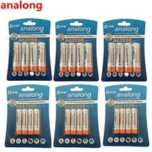 enelong  12Pcs/3card 1.2V 2100mAh AA Batteries+12Pcs/3card 900mAh AAA Batteries NI-MH AA/AAA Rechargeable Battery