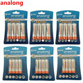 analong AA Rechargeable Battery 2200mAh 1.2V AA + Ni-MH AAA Battery 1000mAh rechargeable batteries mix colors for toys power