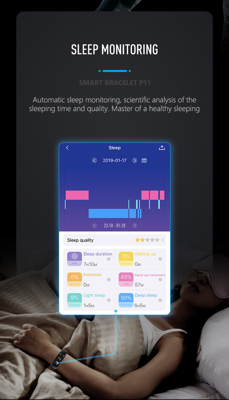HTB1mHSceoCF3KVjSZJnq6znHFXac 2019 Newest smartband P11 ECG Smart band watch Heart Rate Monitor PPG Smart Bracelet Blood Pressure Waterproof Wristband
