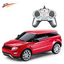 RC автомобилей для Rover Evoque модель 1:24 4ch внедорожник гонки внедорожных Радио Управление транспортных средств электронных хобби Игрушечные лошадки для детей