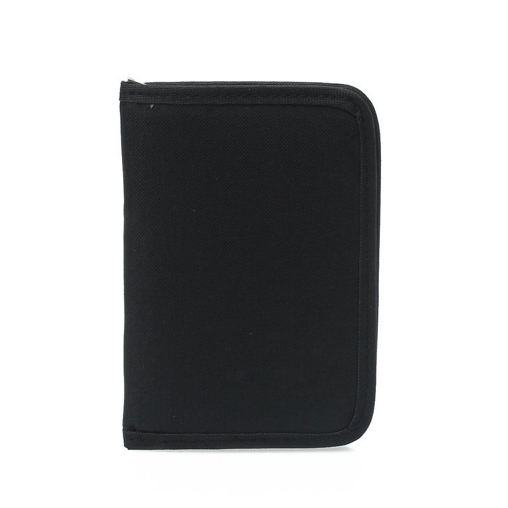 TEXU/многофункциональный холст клатч кошелек Обложка для паспорта черный