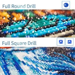 Gatyztory foto personalizado 5d diy pintura diamante ponto cruz privado personalizado mosaico pintura diamante praça cheia diamondembroidery